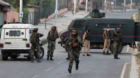 On Monday, a gunfight broke out between security forces and militants after their attempt to strike the CRPF camp in Srinagar was foiled. (Representational)