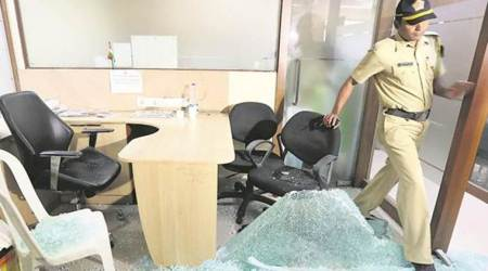 MNS workers vandalise Congress committee's office in Mumbai