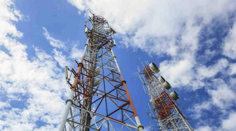 Babra municipality, 11 towers sealed, telecom companies, property tax, Indian Express