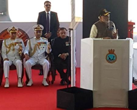 PM Narendra Modi commissions INS Kalvari: 'Proof  of Make in India'