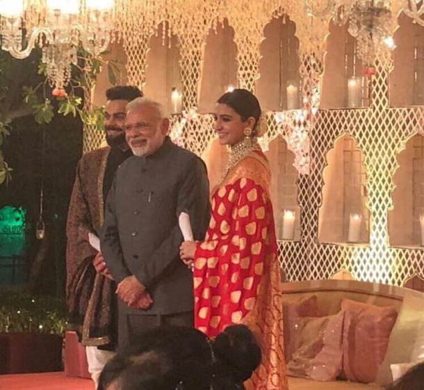 Virat Kohli-Anuskha Sharma wedding reception in New Delhi: See inside pics