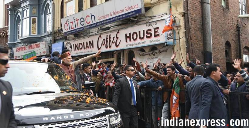 When PM Narendra Modi Had a Coffee Break in Shimla
