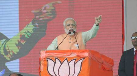 BJP gives you vikas with shanti, suraksha: PM Modi at rally near Godhra