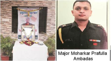 Major Prafulla Moharkar: A town goes silent to mourn and remember its departed son