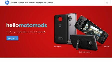 Motorola partners RentoMojo to rent out Moto Mods