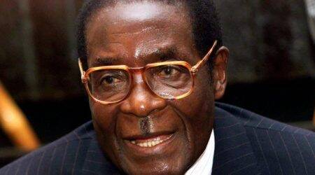 Zimbabwe's Robert Mugabe flies to Singapore, first trip since ouster