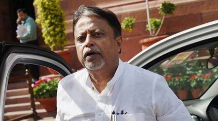 At Raj bhavan: Govt slaughtering democracy, said Mukul Roy