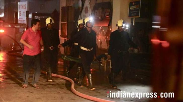 Kamala Mills fire, FIR registered in Kamala Mills fire case, mumbai fire tragedy, maharashtra news, indian express, Mumbai police, Additional Commissioner of Police S Jayakumar