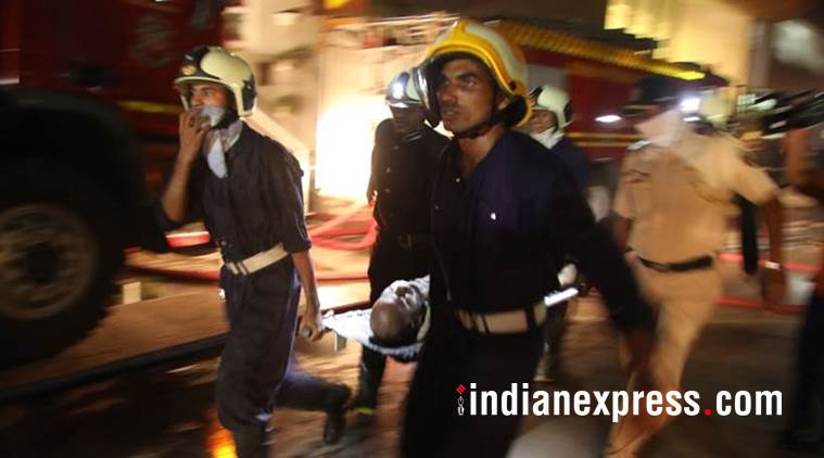 kamala mills fire, mumbai firefighters, 1above bar fire, bursting beer kegs, mumbai fire, indian express