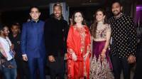 Indian cricketers light-up Krunal Pandya's wedding ceremony in Mumbai, seepics