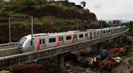 mumbai metro, mumbai metro 4 corridor, mumbai metropolitan region development authority, mmrda, trees, cutting of trees, mumbai news, indian express news
