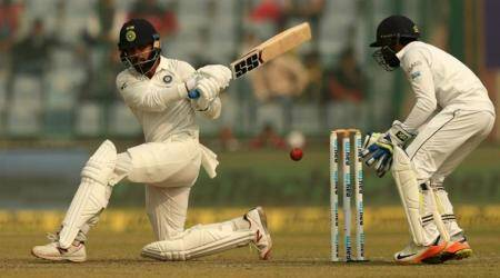 Murali Vijay hits second Test hundred on the trot against Sri Lanka