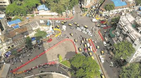 Busy Nagpada junction to soon get more parking space, recreational area