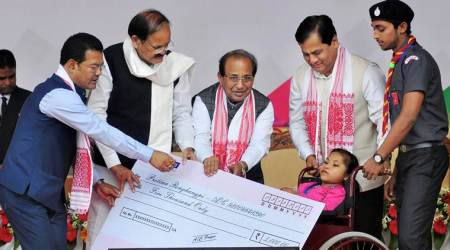Venkaiah Naidu launches scheme for differently abled people inAssam