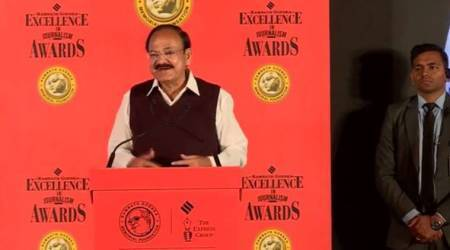 Democracy not just about numbers, also respecting each other's view: Venkaiah Naidu at RNGawards