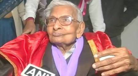 98-year-old man receives masters degree from Nalanda varsity