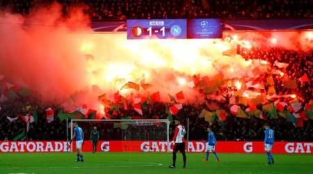 Champions League: Napoli exit as Feyenoord snatch late winner