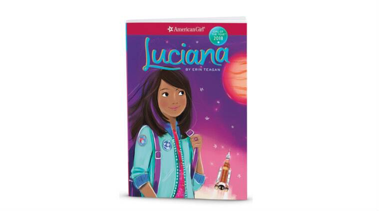 NASA, American Girl, young girls, STEM, Moon, future scientists, space explorers, explorations, American Girl app, Luciana, American Girl website, Girl of the Year, future missions