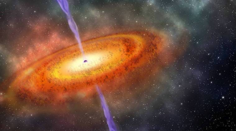 NASA supermassive black hole discovered