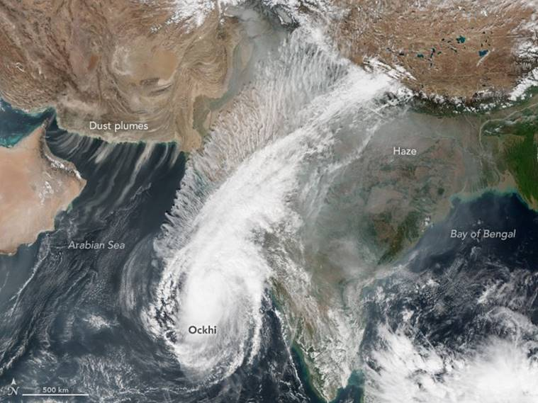 Cyclone ockhi, ockhi in gujarat