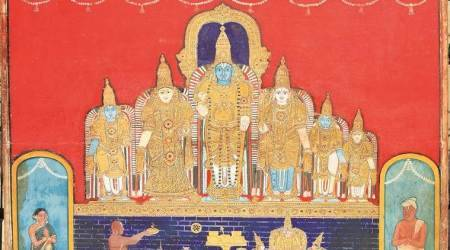 A unique exhibition of Thanjavur and south Indian paintings honours its collector Kuldip Singh's passion