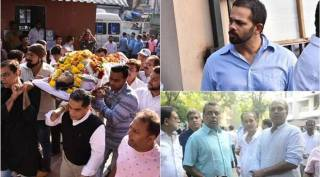 Neeraj Vora funeral: Rohit Shetty, Paresh Rawal and others pay their respects