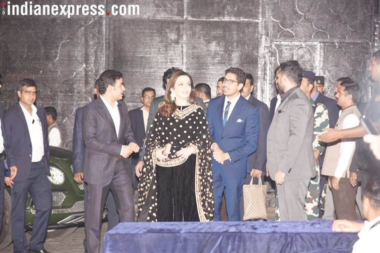 Ayan Mukerji and Neeta Ambani