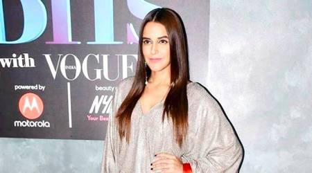 Neha Dhupia channels chic winter fashion in this Zara outfit; see pics