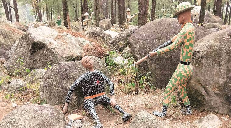 nek chand, nek chand art, chandigarh, rock garden, rock art, anuj saini, indian express