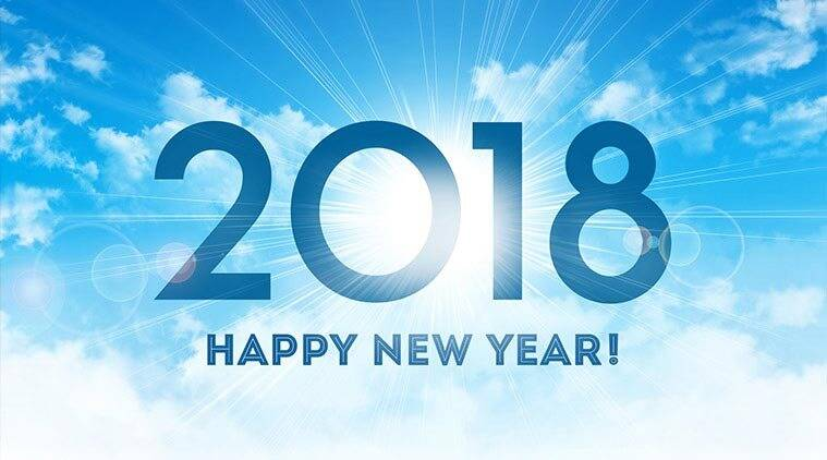 Happy New Year, Happy New Year 2018, Happy 2018, New Year, New