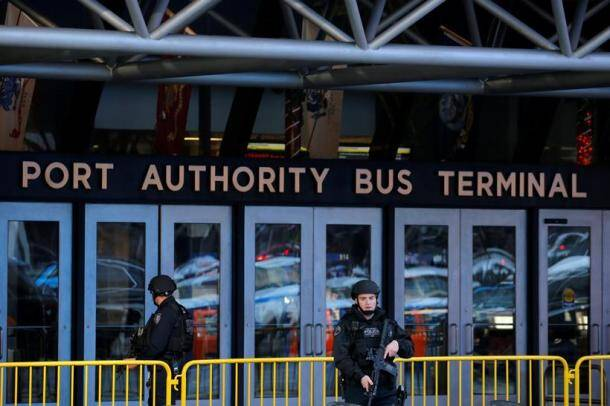 new york city photos, new york explosion photo, manhattan images, bus terminal explosion images, port authority bus terminal pics, new york city police dept, nypd pictures, ny attacker photos, indian express