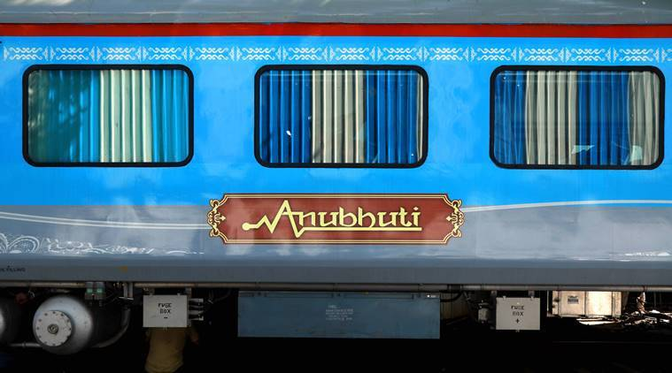 Anubhuti coach arrives to give rail travellers wings