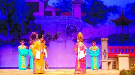 Night at the Opera, Cantonese opera, Chinese opera, Yau Ma Tei Theatre, Hong Kong, Yau Ma Tei Theatre Hong Kong, Theatre, opera theatre, opera, indian express, indian express news
