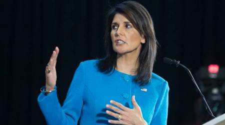 Nikki Haley suggests action on Iran missiles can save nuclear deal