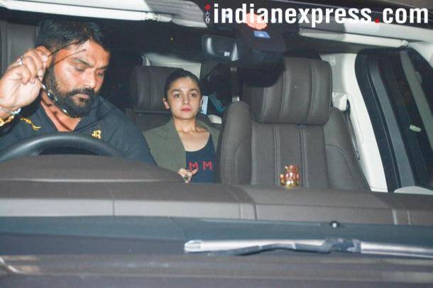 alia bhatt spotted in the city