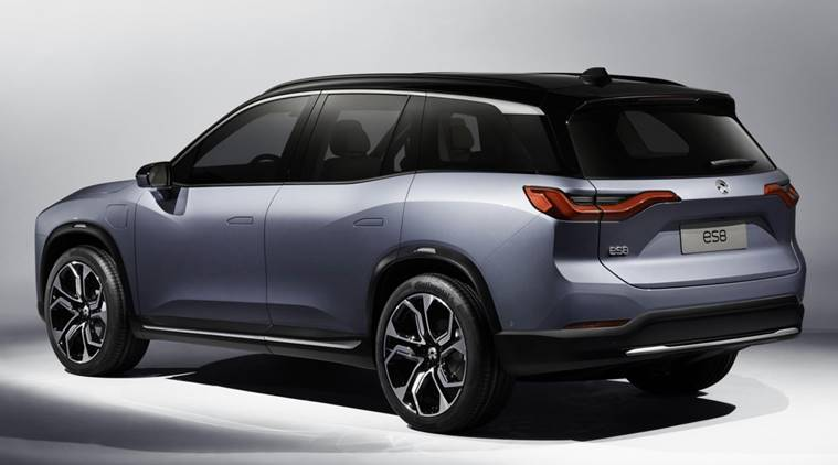 Chinese Startup Nio Launches Fully Electric Suv Price Specs And Pictures Auto Travel News The Indian Express