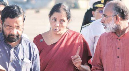 Congress playing religion card, may lead to communal disharmony, says Sitharaman