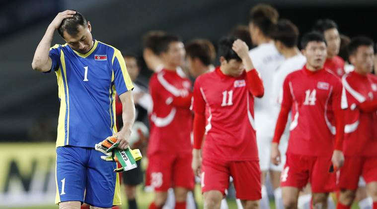 South Korea vs North Korea, East Asian Championship, East Asian Championship schedule, East Asian Championship result, Ri Yong Chol, sports news, football, Indian Express