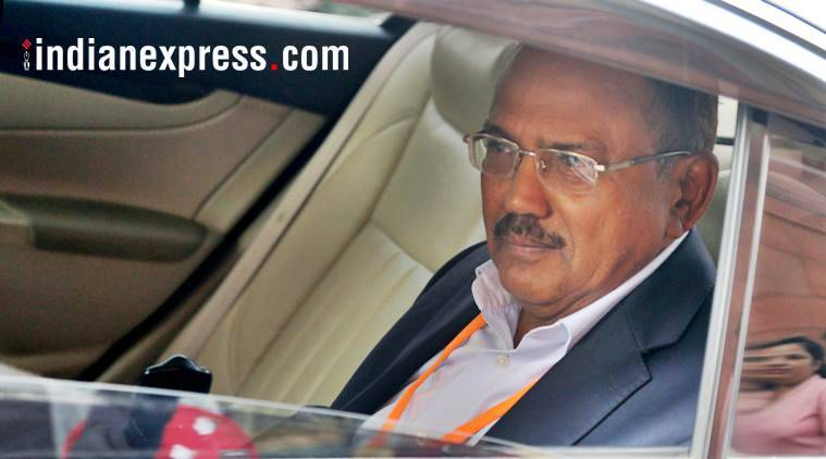 National Security Adviser Ajit Doval. (Express file photo)
