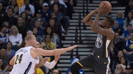 NBA: Denver Nuggets stop Golden State Warriors' 11-game winning streak, 96-81
