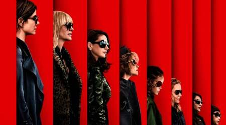 Ocean's 8 first poster: Sandra Bullock and her gang are all set to pull off a heist at the Met Gala