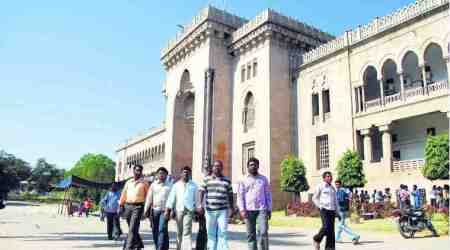 Exam answer scripts gutted in fire in Osmania university