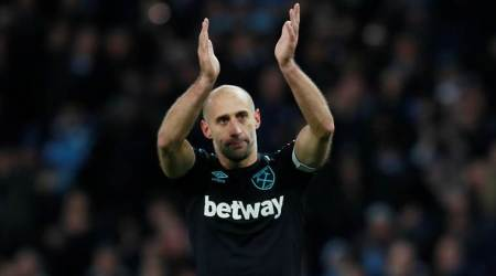 West Ham United, West Ham United vs Arsenal, Arsenal West Ham United, Pablo Zabaleta, Premier League, sports news, football, Indian Express