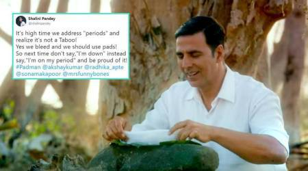 PadMan trailer: Akshay Kumar-starrer prompts Twitterati to talk about menstruation