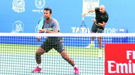 Leander Paes and Purav Raja put fitness first