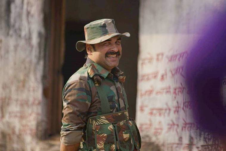 Pankaj Tripathi in Newton