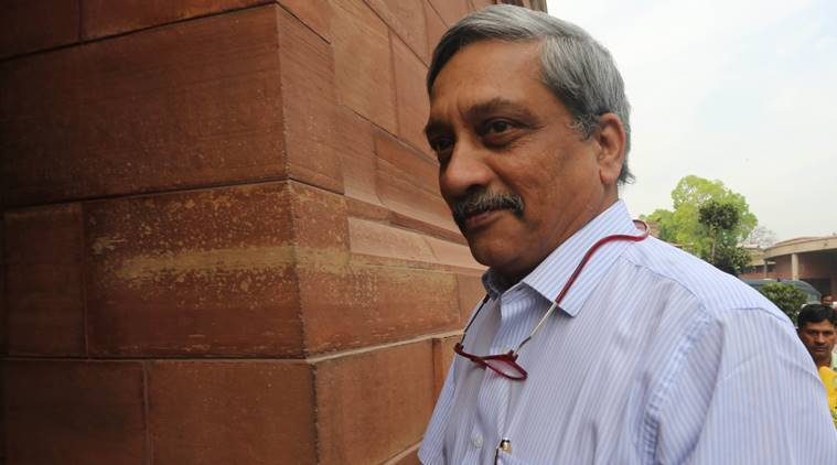 goa chief minister manohar parrikar, parrikar admitted to hospital, goa cm admitted to hospital
