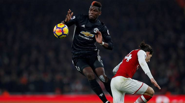 Paul Pogba, Paul Pogba Manchester United, Kevin De Bruyne, Manchester City, Premier League, sports news, football, Indian Express