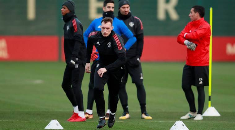 Phil Jones picked up an injury while playing for England
