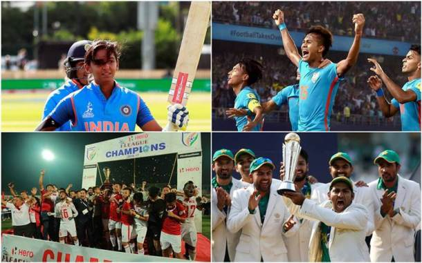 From India's first goal in the U-17 World Cup to Usain Bolt's farewell, standout sporting moments of 2017